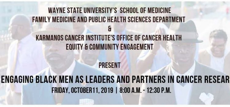 Symposium: Engaging Black Men as Leaders and Partners in Cancer Research